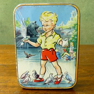 "Sharp's Toffee Tin ""Feeding The Birds"""