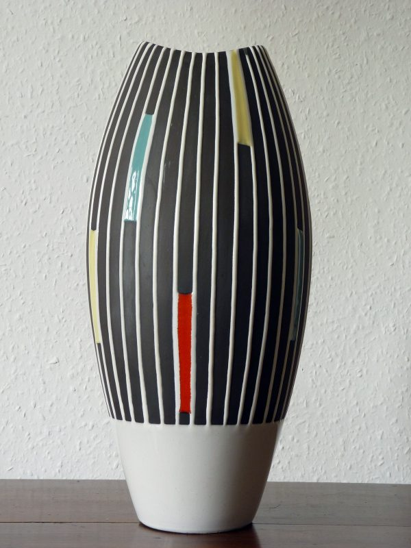 "Very Large West German Schlossberg Keramik ""Staufen"" Vase"
