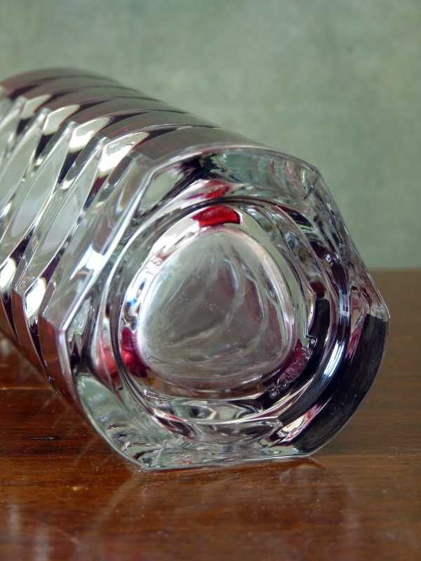 Luminarc Rubis Windsor Cut Glass Vase