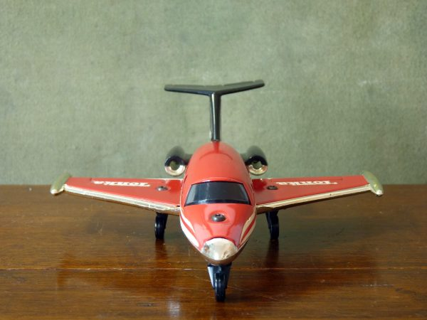 Tonka Toy Learjet Plastic and Metal Made in Hong Kong
