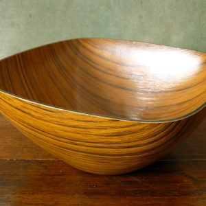 Caleppio Wood Effect Melamie Bowl