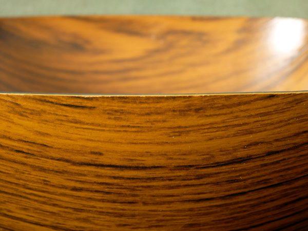 Caleppio Wood Effect Melamie Bowl