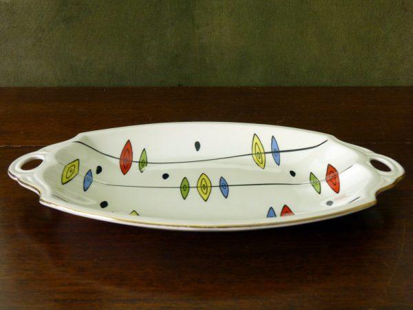 "Empire Porcelain ""Calypso"" Atomic Tea Tray 1960s"