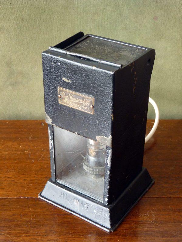 Chas. Hearson Laboratory Microscope Lamp HM GOVT.
