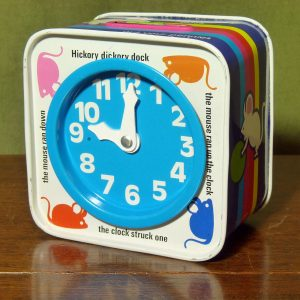 Chad Valley Hickory Dickory Dock Money Box