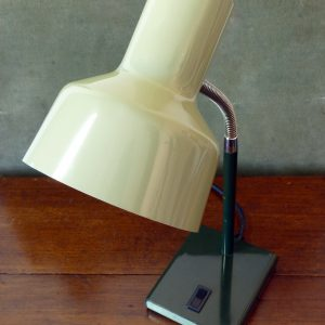 Anglepoise Model 99 Gooseneck Lamp in Light/Dark Green
