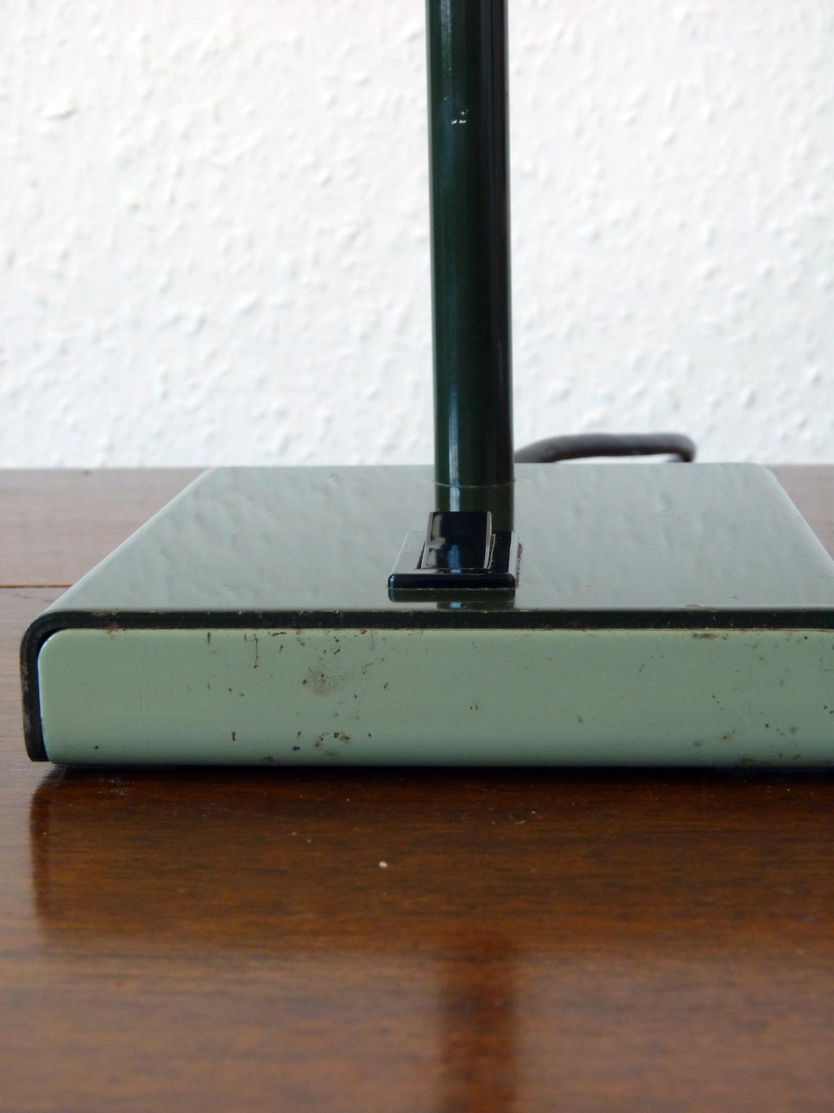 Anglepoise Lighting Model 99 Gooseneck Desk Lamp In Green