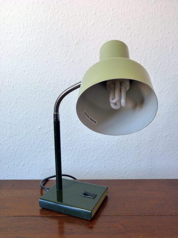Anglepoise Model 99 Gooseneck Lamp in Light/Dark Green