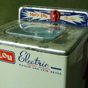 """Chad Valley """"Mary Lou"""" Toy Electric Washing Machine"""