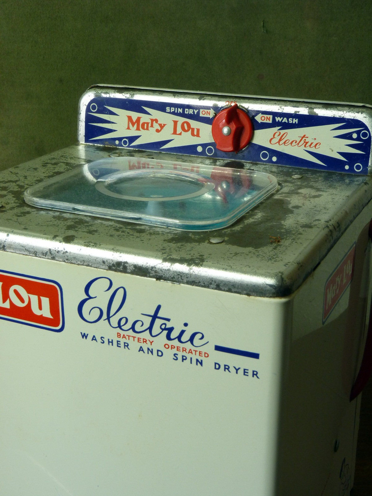 "Chad Valley ""Mary Lou"" Toy Electric Washing Machine"