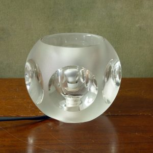 1970s TA14 Glass Lamp by Peill & Putzler