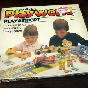 1982 Waddingtons Playworld Play Aiport