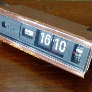 Copal 229 Flip Clock with Alarm Made In Japan