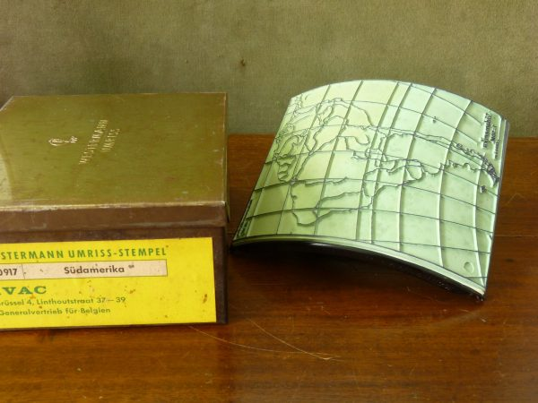 Westermann Umriss Map Stamp South America Sudamerika