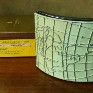 Westermann Umriss Map Stamp South America Sudamerika
