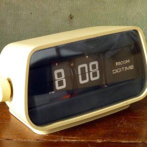 1960s Ricoh Digitime Flip Clock