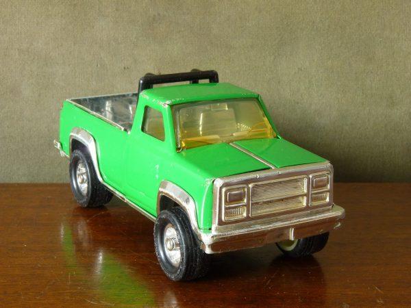 1970s Green Pressed Steel Tonka Toy Pickup