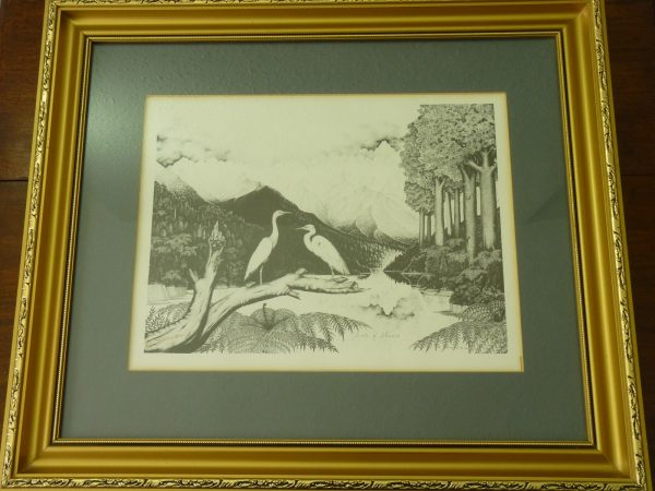Rei Hamon Signed Jewels of Okarito Print