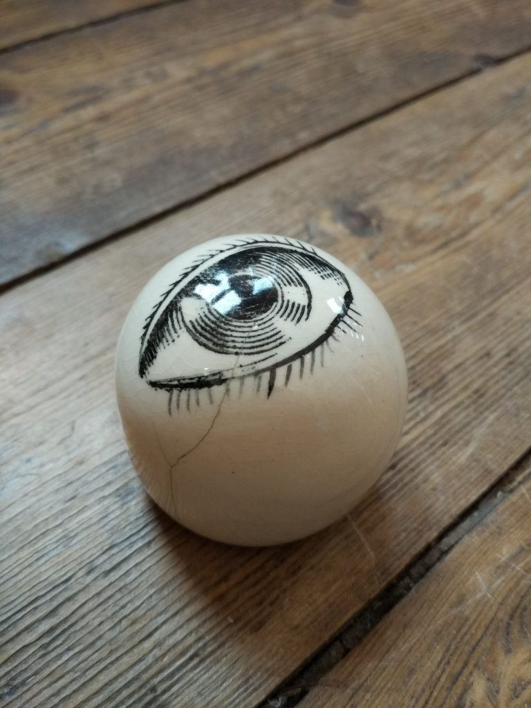 Piero Fornasetti / Dodo Designs Eye Paperweight