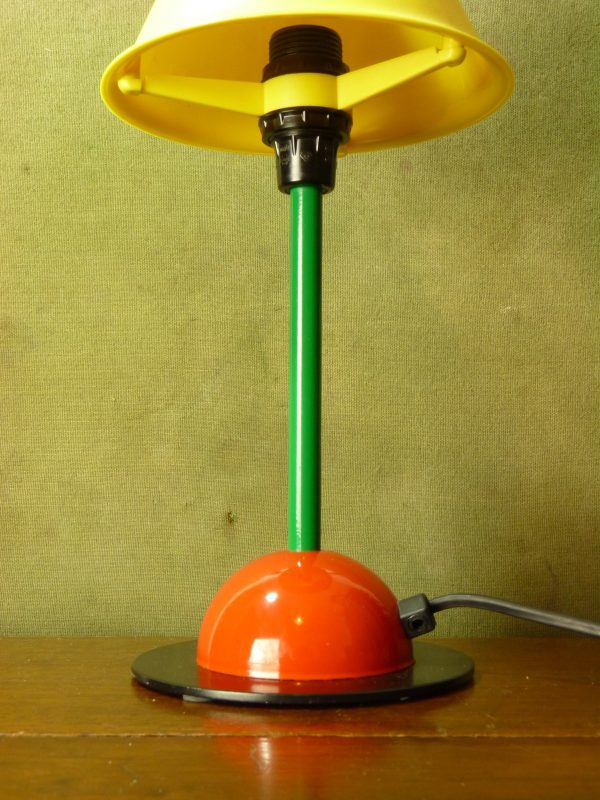 Early IKEA Memphis Style Colourful Desk Lamp Type B9409