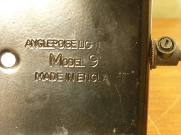Vintage Black Model 99 Anglepoise Gooseneck Desk Lamp