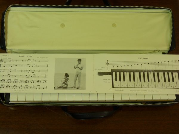 Vintage Tokai P36 Pianica In Case with Booklet