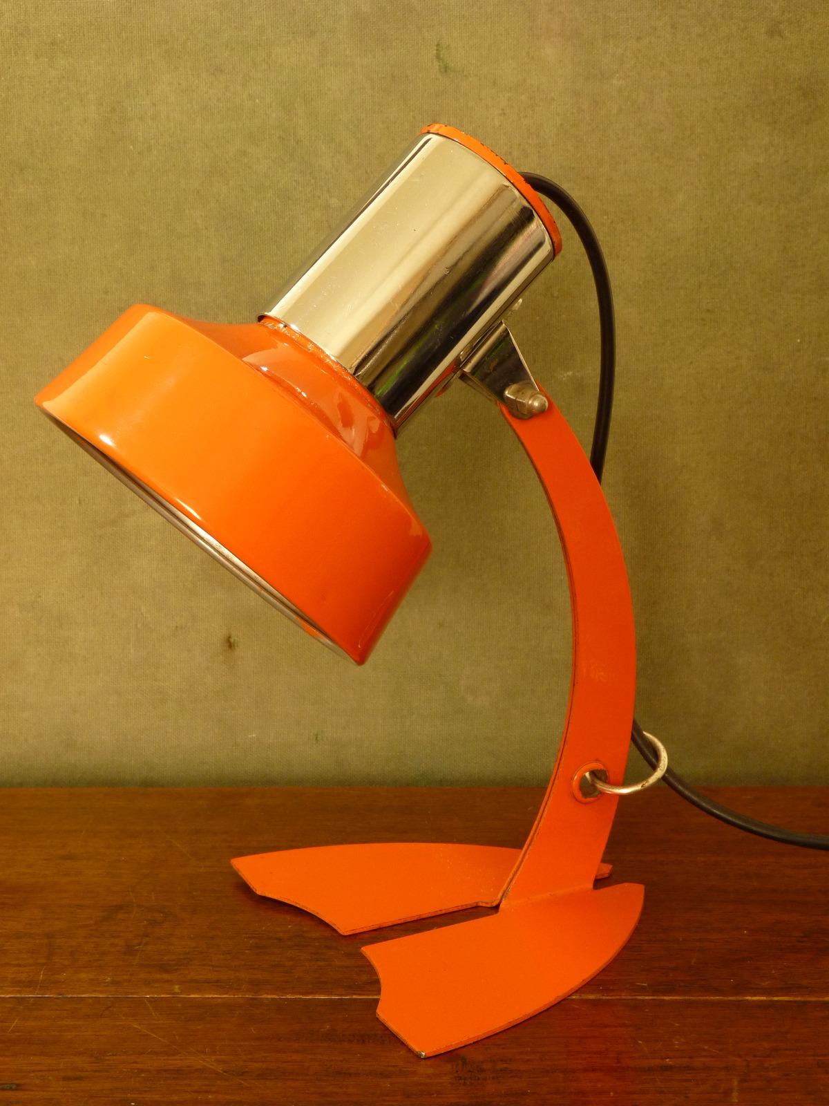 Vintage Hustadt Leuchten Daffy Lamp German 1960s