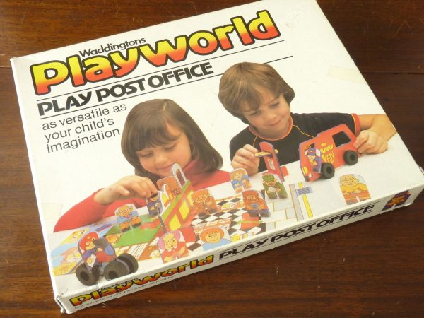 Waddingtons Playworld Post Office Play Activity Set 1980s 1982