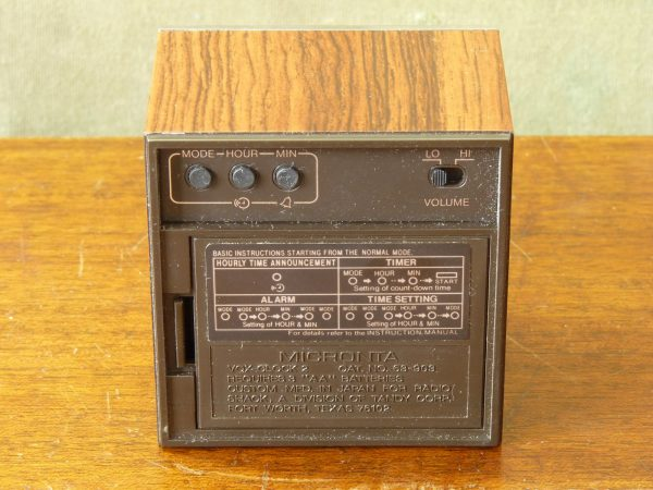 Boxed Micronta VoxClock 2 Talking Clock with Countdown Timer