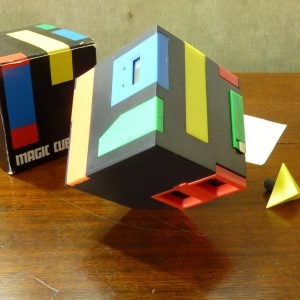1980s Merit Magic Cube Desk Stationery Set