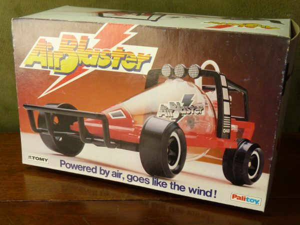 1980s Boxed Tomy Palitoy Air Blaster Air Powered Car Toy