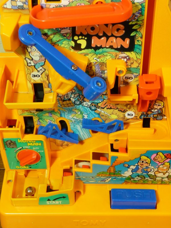 Original 1980s Tomy Kongman Game Boxed/Complete