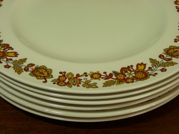 Midwinter Fine Tableware Sorrento Dinner Plates Nigel Wilde Staffordshire