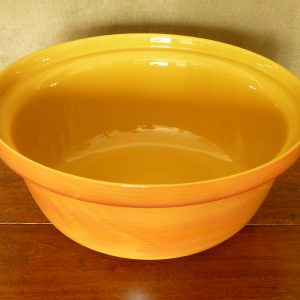Large French Arcopal Volcan Opaline Glass Serving Dish or Bowl
