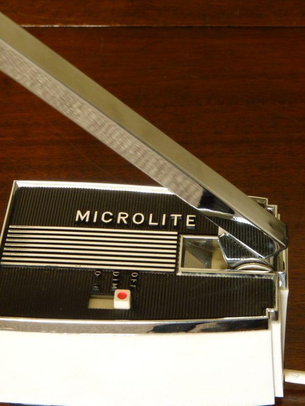 Vintage Black Microlite Telescopic Desk Light