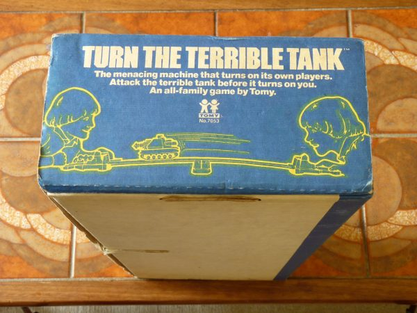 Vintage 1979 Tomy Turn The Terrible Tank Action Game