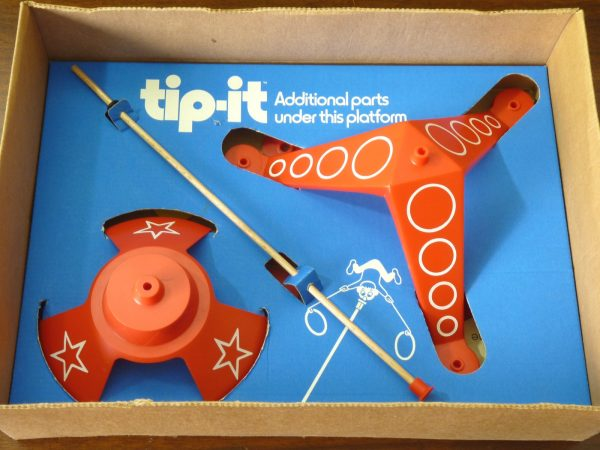 Vintage 1974 Ideal Tip-It Balancing Game - The wackiest...