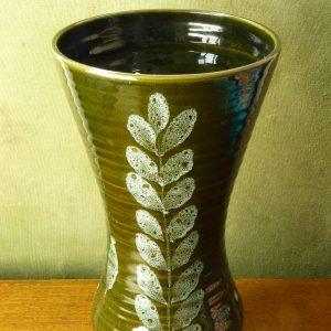 Large Lotus Studio Pottery Vase Elizabeth Skipworth