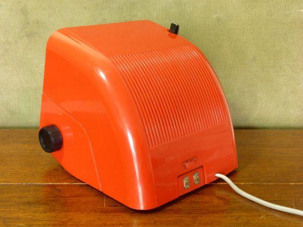 Early 1970s German Red ELAC RD-100 Flip Clock Radio