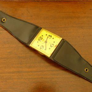 Vintage Kitsch Oversized Watch Hanging Alarm Clock (West German)
