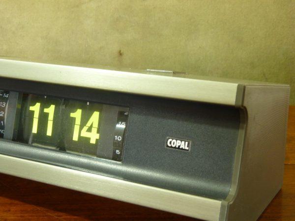 Boxed Bronze Copal 705L 24-hour Flip Clock with Luminous Digits