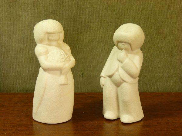 "Early 1980s Hornsea ""People"" by John Clappison - Bridesmaid and Pageboy"