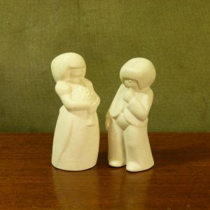 """Early 1980s Hornsea """"People"""" by John Clappison - Bridesmaid and Pageboy"""