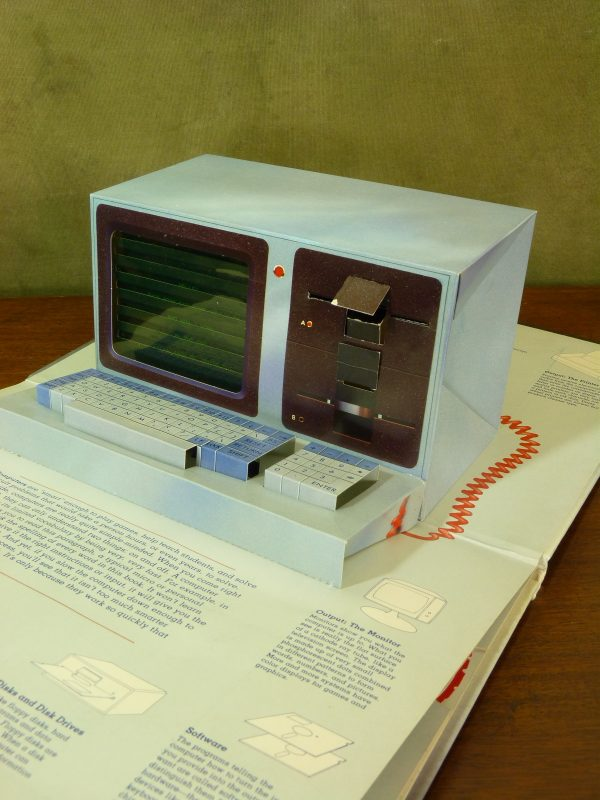 Inside The Personal Computer 3D Pop-Up Book (Viking / Penguin, 1984)