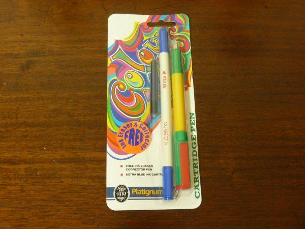 1980s Sealed Platignum Colour Vibes Fountain Pen