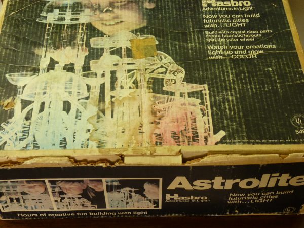 1969 Hasbro Astrolite Build With Light Construction Set