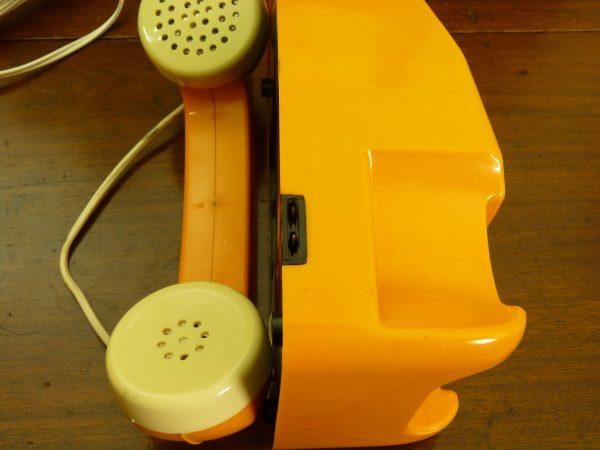 Ingap Children's Orange Intercom Toy Telephones Made In Italy