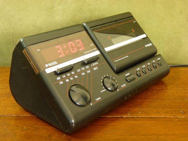 Ross Digital Clock Radio / Personal Cassette Stereo