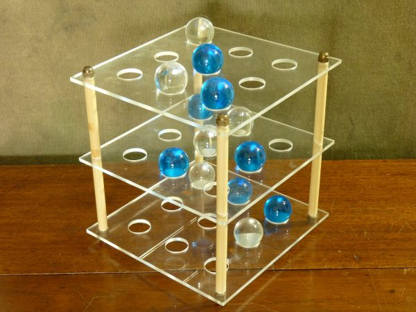 Vintage Plato Three-Dimensional Noughts and Crosses by Rumbold Gallery