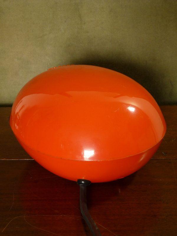Large orange egg-shaped Boston Electric Pencil Sharpener 296A